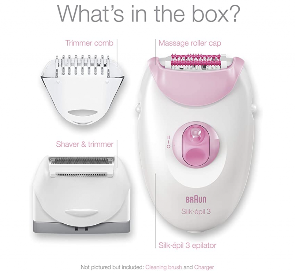 Epilator review for those dipping their toes in epilating for hair removal