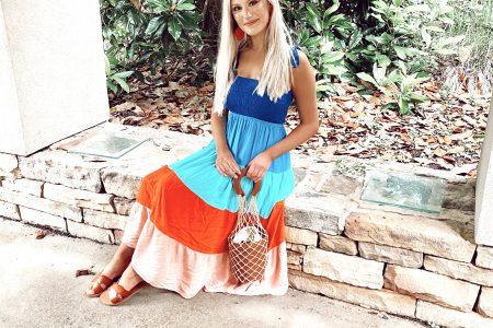 Tie Shoulder Dresses For Summer | by North Carolina fashion blogger Jessica Linn