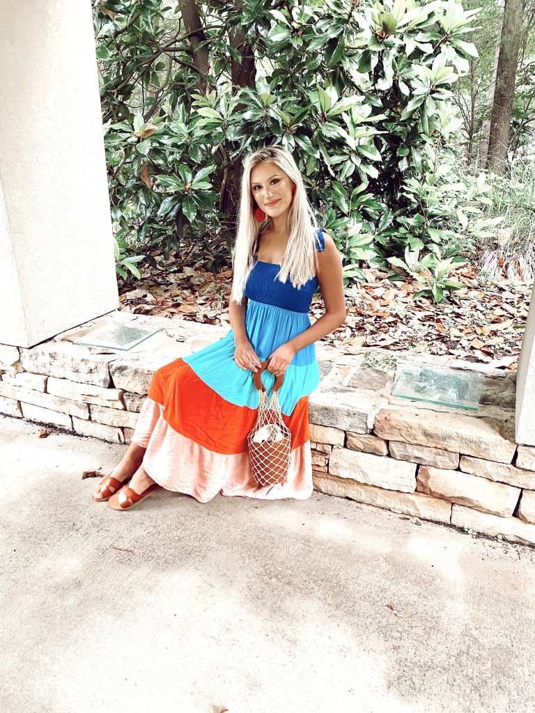 Tie Shoulder Dresses For Summer   by North Carolina fashion blogger Jessica Linn