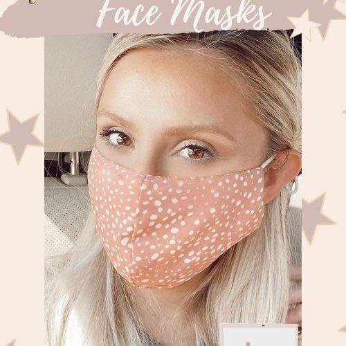 Cute & Stylish Face Masks | Linn Style by Jessica Linn