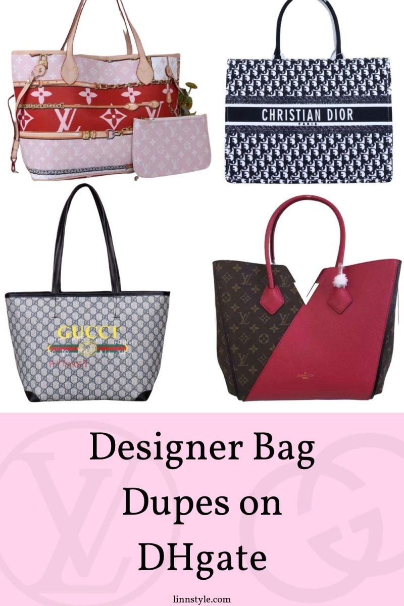 Designer Bag Dupes On DhGate | Linn Style by Jessica Linn