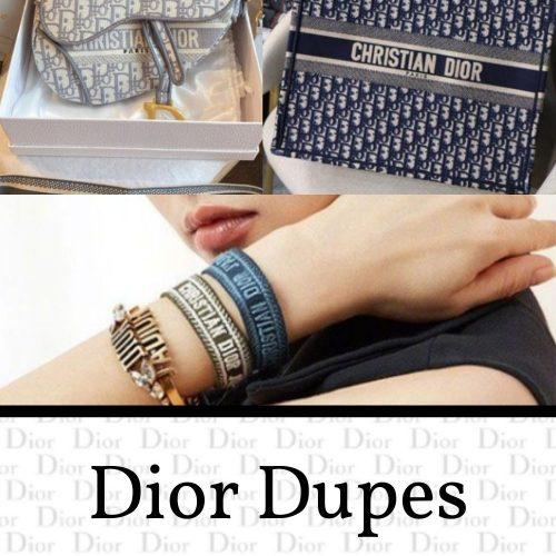 Dior Bag, Shoe, & Accessory Dupes