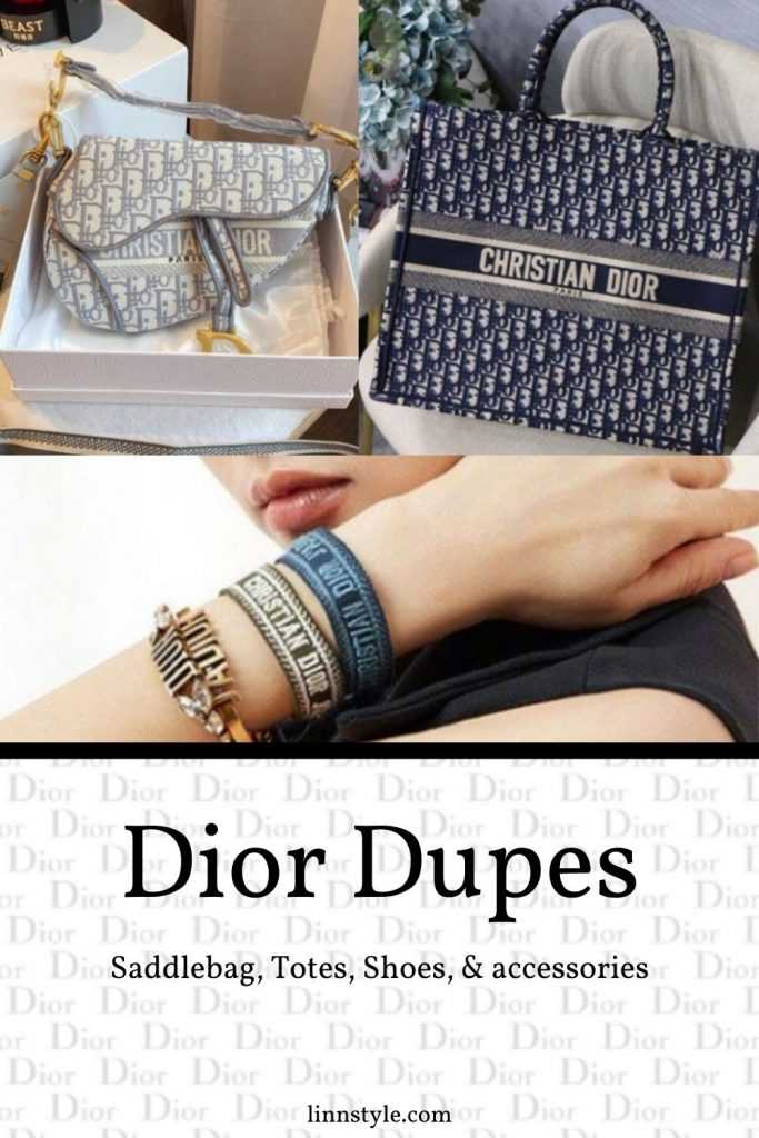 Dior Bag, Shoe, & Accessory Dupes