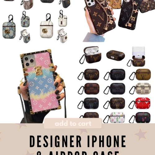 Designer iPhone & AirPod Case Dupes | Linn Style by Jessica Linn