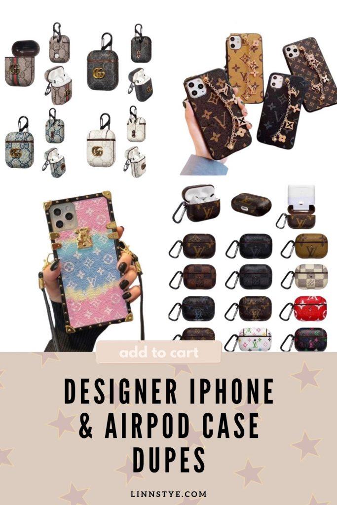 Designer iPhone & AirPod Case Dupes | Linn Style by Jessica Linn