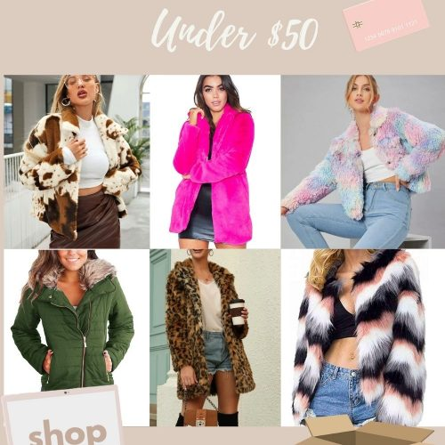 Faux Fur Coats Under $50 by Jessica Linn