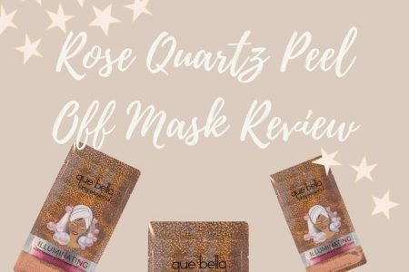 Que Bella Rose Quartz Glitter Peel Off Mask Review | Linn Style by Jessica Linn