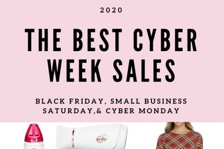 The Best 2020 Cyber Week Sales by Jessica Linn