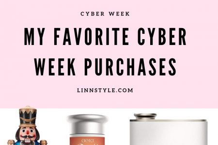 My Favorite Cyber Week Purchases by Jessica Linn
