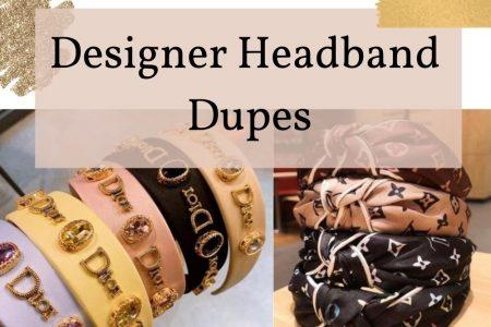 Designer Headband Dupes by Jessica Linn