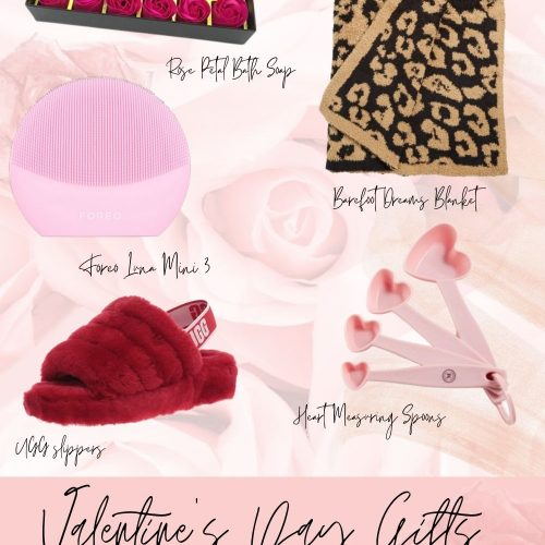 Valentine's Day Gifts Women Will Love! by Jessica Linn Barefootdreams leopard print blanket