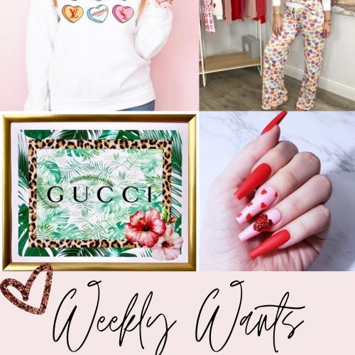 Weekly Wants | Valentine's Nails, Designer Inspired & More by Jessica Linn