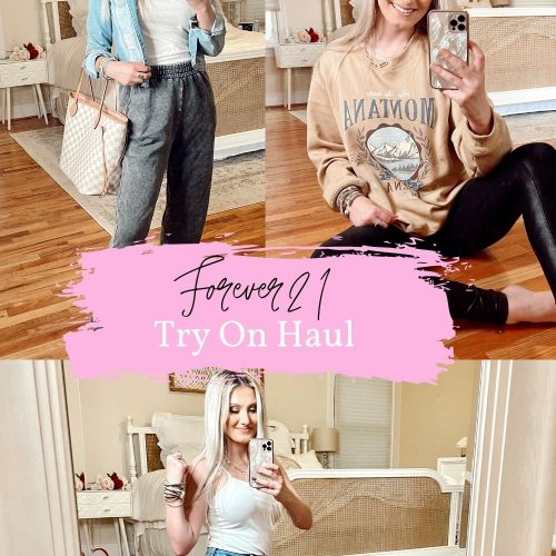 Forever21 Try-On Haul + Review by Jessica Linn