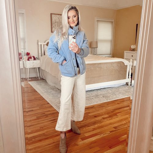 What Jeans Go With Ankle Boots? How To Style Ankle Boots | Ankle Boots With Cropped Jeans Linn Style by Jessica Linn