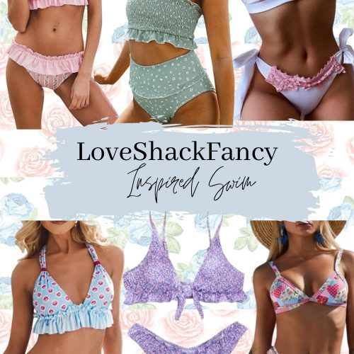 Love Shack Fancy Inspired Swimsuits | Look For Less | Linn Style by Jessica Linn