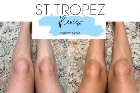 St. Tropez Self Tan Express Bronzing Mousse Review | Before & After by Jessica Linn