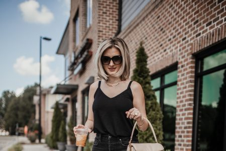 3 Outfit Ideas To Wear With A Simple Black Tank Top | Linn Style by Jessica Linn
