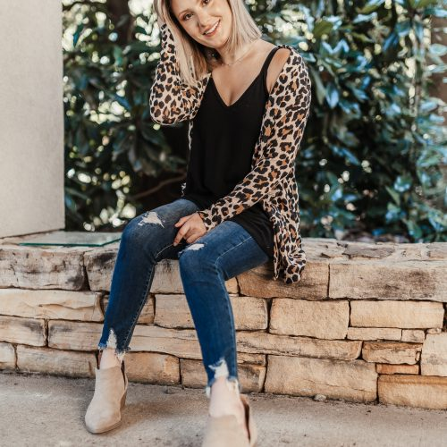 Fall Transition Outfit | Leopard Print Edition by Jessica Linn